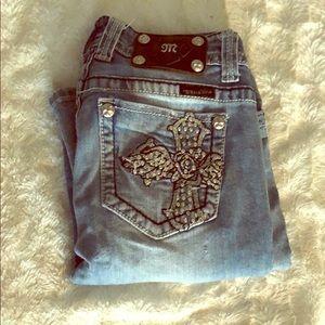 Vintage miss me jeans jp50995B4 size 27